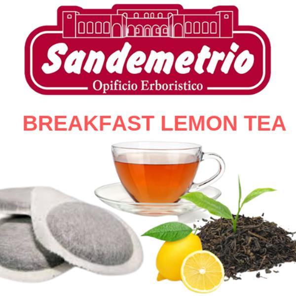 100 cialde Filtro Carta Ese 44 mm Breakfast Lemon Tea